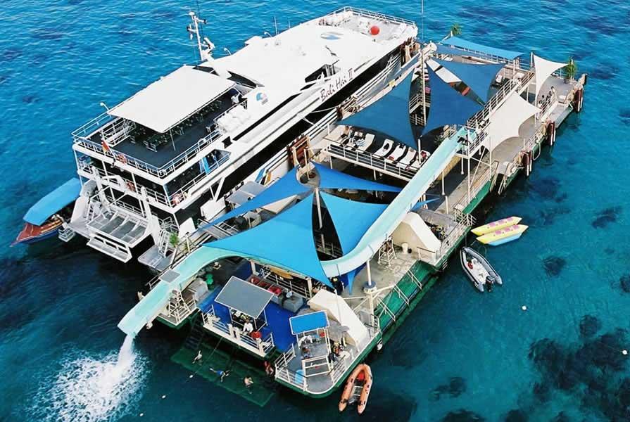 Bali Hai Cruise Vessel Pontoon