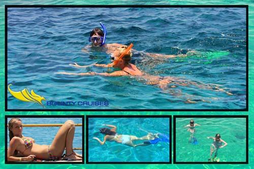Bounty Cruise Snorkling