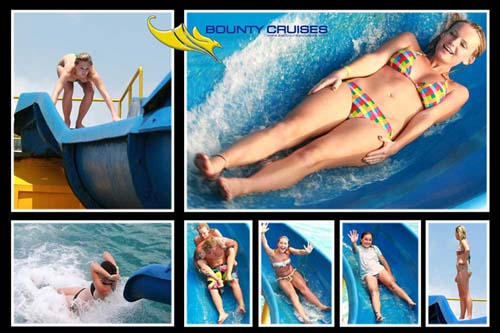 Bounty Cruise Waterslide