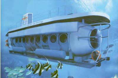 Oddyssey Submarine Bali